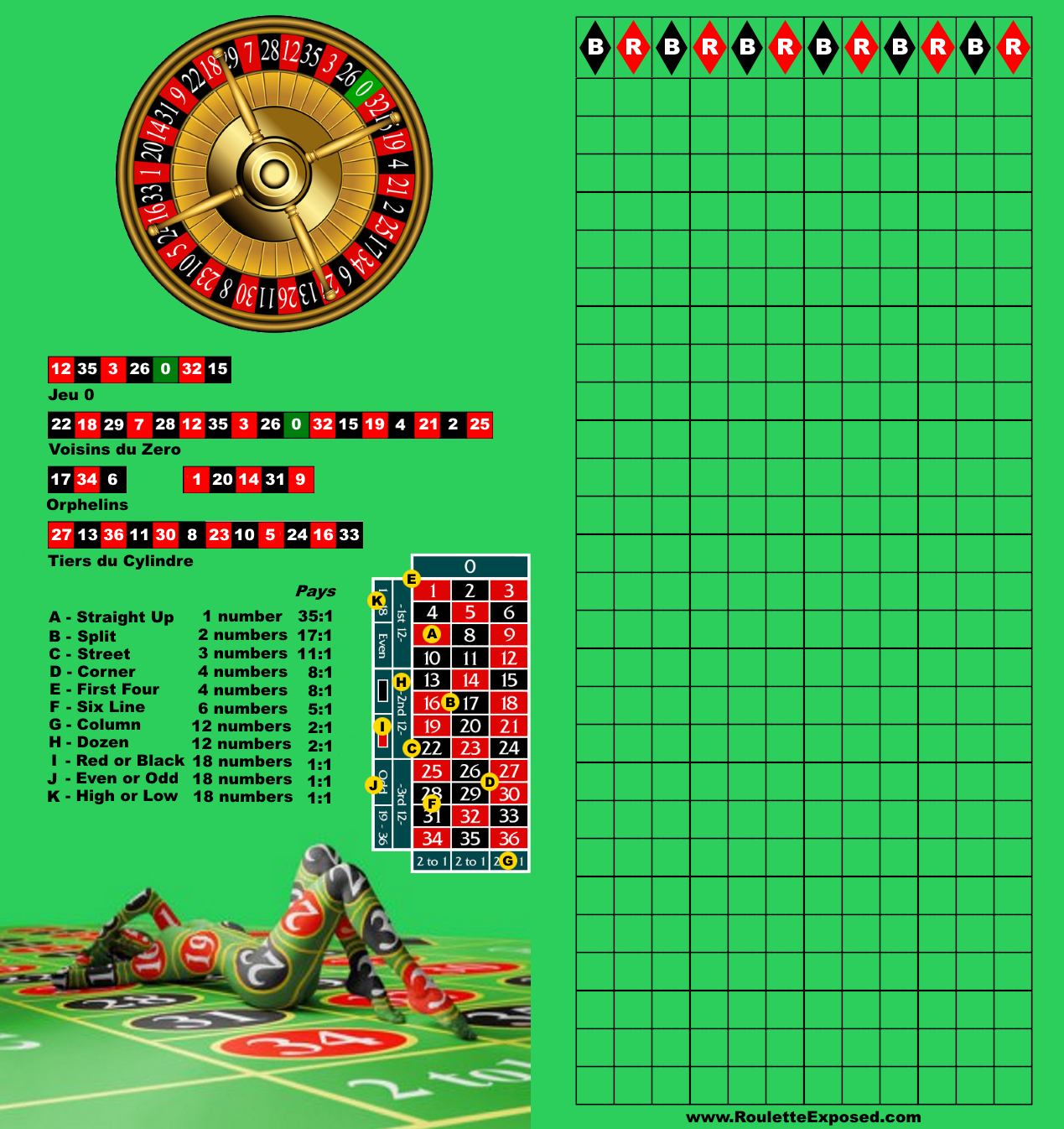 free play online roulette game